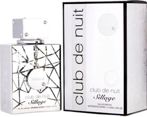 Club De Nuit Sillage by Armaf perfume for unisex EDP 3.6 oz New in Box $39.24