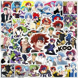 50PCS SK8 The Infinity Anime Stickers DIY Travel Skateboard Suitcase Luggage Car $6.99