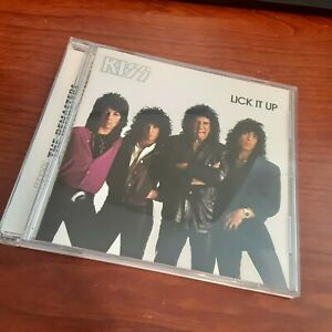 KISS LICK it UP CD Featuring 10 of the Groups Heavy Hard Rock Songs $10.79
