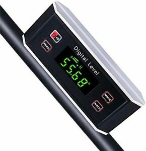 Electronic Inclinometer Digital Protractor Level Angle Finder And Gauge Tools $42.43
