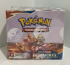 10 Battle Styles Booster Pack Lot From Factory Sealed Pokemon Booster Box $43.99