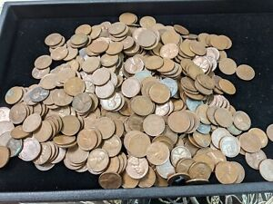 UNSEARCHED Lot of 500 Lincoln Wheat Pennies Cents