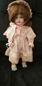 """ANTIQUE CENTURY DOLL CO COMPOSITION MAMA GIRL DOLL 22"""" antique clothing $149.99"""