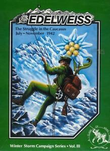 Clash of Arms Wargame Winter Storm Campaign #3 Edelweiss VG