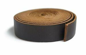 Leather Strips 3 4 inch Wide 72 inches Long Straps Crafting Sewing Belt Band ... $20.91