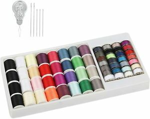 Polyester Sewing Thread Spools and Bobbins for Sewing Machine $9.55