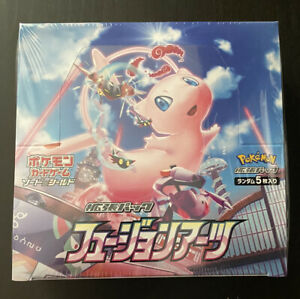 Pokemon Japanese Fusion Arts Strike Booster Box Sealed New S8 Mew SHIPS FROM USA