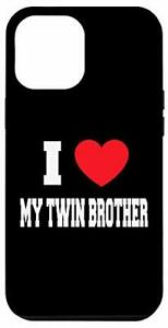 iPhone 12 Pro Max I Love my twin brother Case $43.46