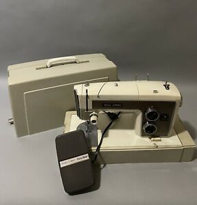 Sears Kenmore Portable Sewing Machine W Foot Pedal Model 158. 17031 Works $110.00