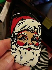 Mary Ann Shop advertising Santa sewing kit Vintage Needle Pack 1930s or 40s $7.50