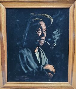 Antique oil paintings by Ben Alano $1500.00