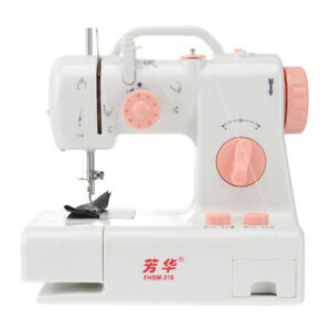 Mini Sewing Machine Double Speed Electric Automatic Rewind Thread Sewing Machine $35.99