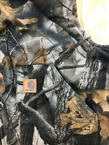 Carhartt Real Tree Down Filled Camo Vest No Tag Maybe 2XL Pockets Insulated