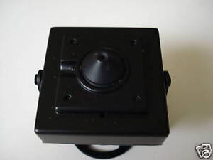 Sony CCD Bullet color Camera with f 3.6mm pinhole Lens CCTV Professional