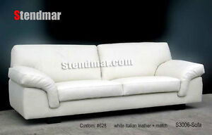 New Italian Design Modern Leather Sofa S3006