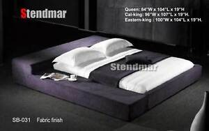 NEW MODERN EURO DESIGN PLATFORM BED SB031