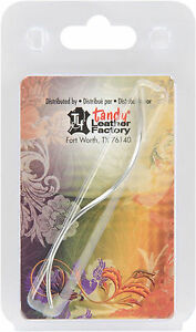 S Curved Sewing Needle With Chisel Pt. 11193 00 by Tandy Leathercraft $2.99