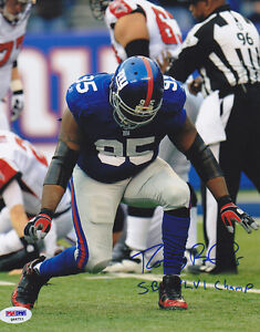 Rocky Bernard SIGNED 8x10 Photo SB XLVI Champ Giants PSA DNA AUTOGRAPHED $75.00