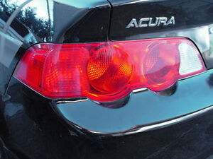 02 04 ACURA RSX TAIL LIGHT SIGNAL PRECUT REDOUT TINT COVER RED OVERLAYS $8.95