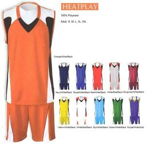 16 Basketball Team Shirt Jersey Uniform CEN#2111 Wholesale $22.00kit Save $160