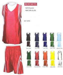 16 Basketball Team Shirt Jersey Uniform CEN#2112 Wholesale $22kit Save $240