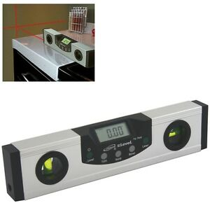 DIGITAL LASER LEVEL ANGLE INCLINE PROTRACTOR ELECTRONIC ANGLE GAUGE $38.50