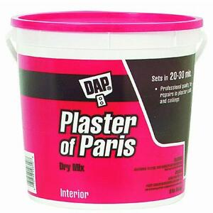 8lb Plaster Of Paris DAP10310 ideal for hobby molds and casts sets quick 4PK