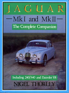 JAGUAR Mk I AND Mk II COMPLETE COMPANION, 240 340 & DAIMLER V8, NEW BOOK OFFER