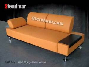 NEW MODERN EURO DESIGN LEATHER SOFA S018
