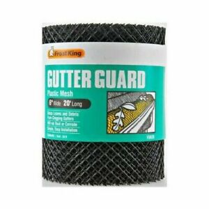 Lot of 6 Rolls Frost King VX620 20#x27; x 6quot; Gutter Guard Protector Rolls $20.29
