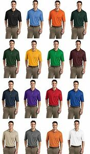 Sport Tek Dri-fit Mesh MENS Golf Polo Tennis Sport Shirt XS-3XL 4XL
