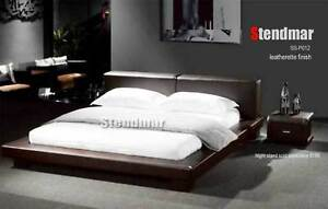 NEW MODERN EURO DESIGN PLATFORM BED SB032