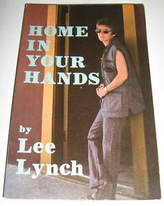 Lee Lynch HOME IN YOUR HANDS tspb Naiad Press 1986