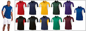 PEACHES PICK Mens Size LT-4XLT Snag Resist COLORBLOCK dri fit Tagless Polo Shirt