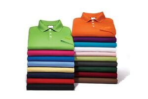 EAZY GOLF Men's S-3XL 4XL 5XL 6X Dri-Fit Micro Pique Polo Sport Shirts TALL REG