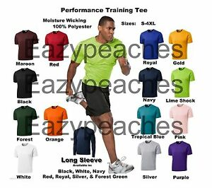 Men's A4 NEW Dri fit Workout Running Cooling Athletic T SHIRTS S 3XL 4XL N3142 $6.45