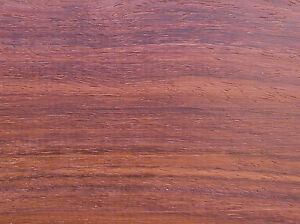 African Padauk Wood Sample (1/2