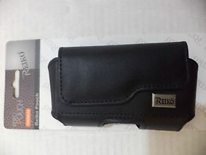 Reiko Leather Pouch Protective Carrying Case Samsung Galaxy 345678 Edge