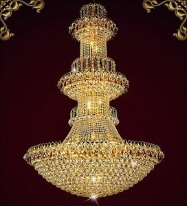 NEW European court style K9 crystal ceiling lamps chandeliers lamps 110V-240V