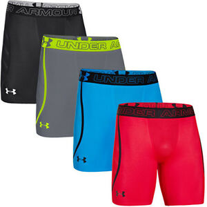 New Under Armour Mens HeatGear ArmourVent Compression Shorts Base Layer SMLXL