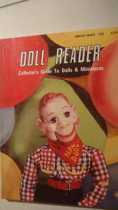 doll reader feb mar1982 magazine includes index