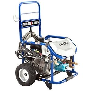 Yamaha Professional 4000 PSI (Gas - Cold Water) Pressure Washer w CAT Pump