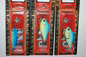 3 lures lucky craft lvr mini sinking 2 14