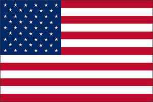 UNITED STATES OF AMERICA american Flag Vinyl Decal / Sticker ** 5 Sizes **