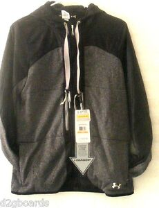 NWT 2016 Under Armour Womens UA Charged Wool Teewinot Hoodie Jacket S Small or22
