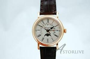 18k Rose Patek Philippe Ref 5159 Perpetual COLLECTOR NEW SPECIAL SALE