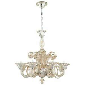 Cyan Design LaScala Eight Light Chandelier Chrome - 06445