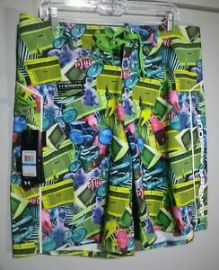 Under Armour Storm Hydro UA Surf Board shorts Lawn Decorations NWT Z21