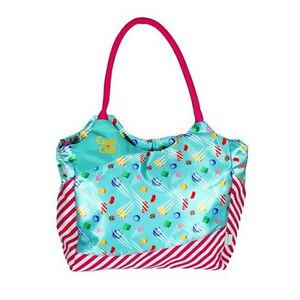Candy Crush Removable Shoulder Strap Tote Bag - 16 in x 13 in