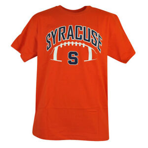 NCAA Syracuse Orange Cuse Tight End Cotton Tshirt Tee Mens Football Short Sleeve
